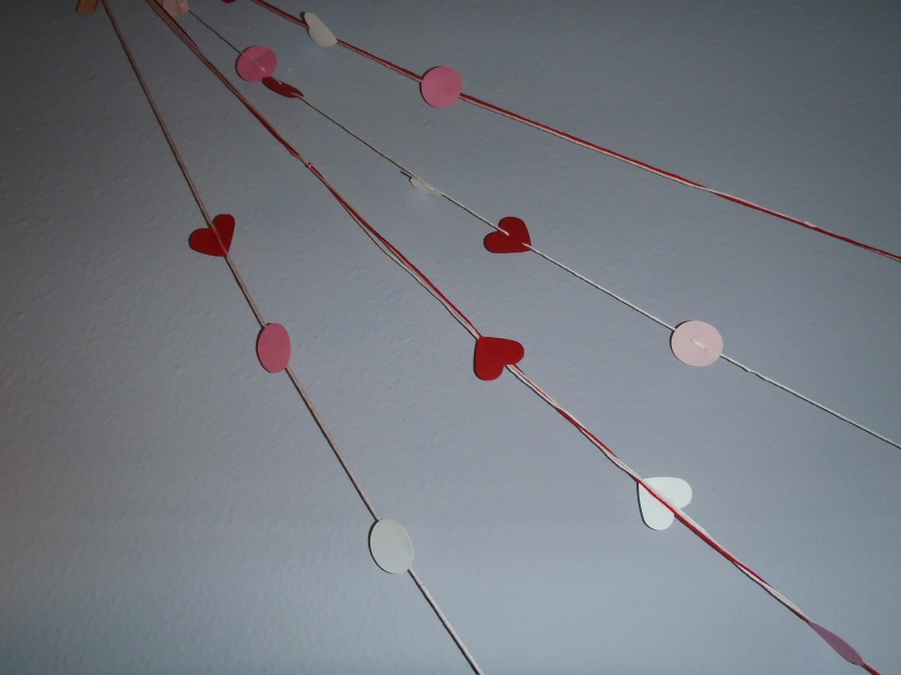 DIY Hearty Garland