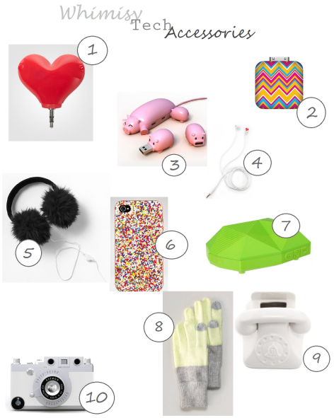 whimsical tech accessories